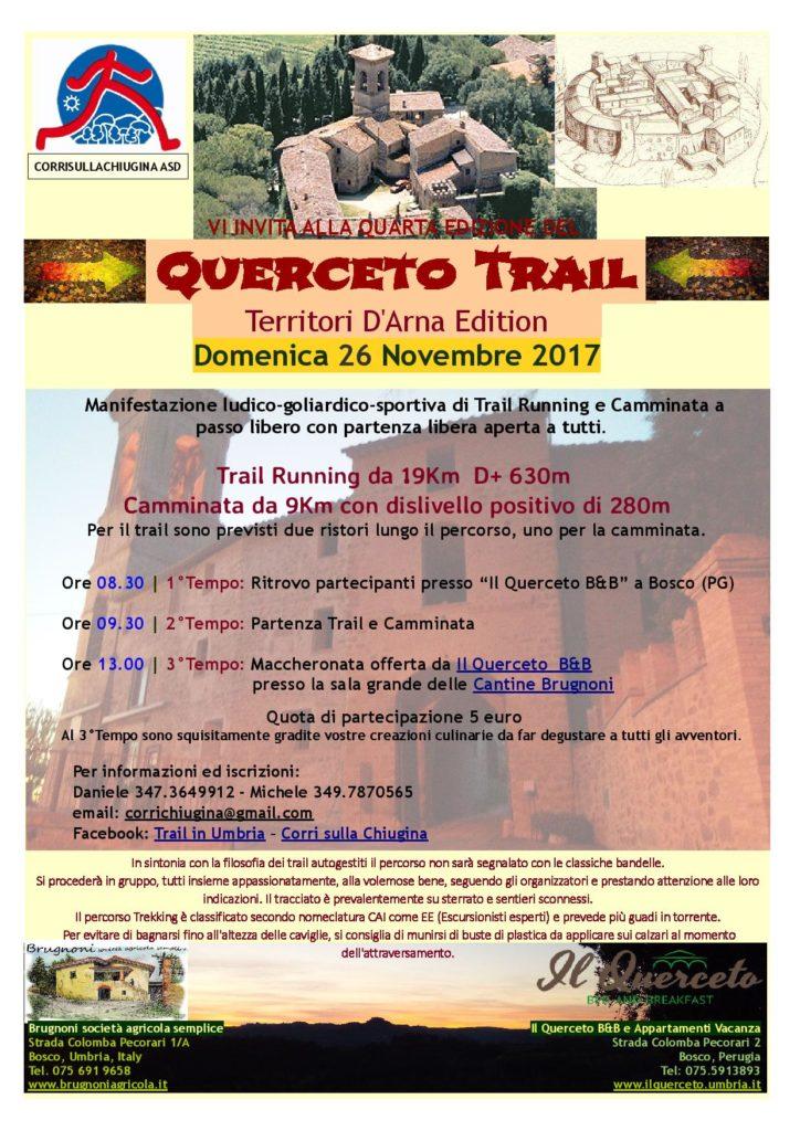 Querceto D'Arna Trail 2017
