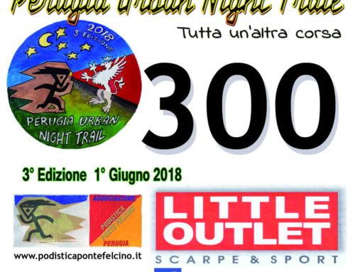 Perugia Urban Night Trail – 3° Edizione