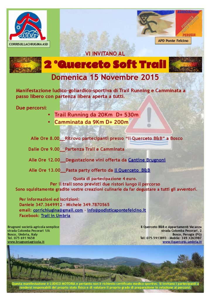 2° Querceto Soft Trail