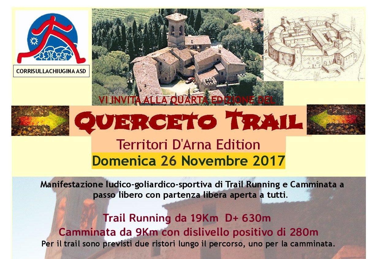 Querceto DArna Trail 2017